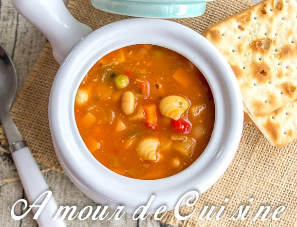 soupe minestrone 2
