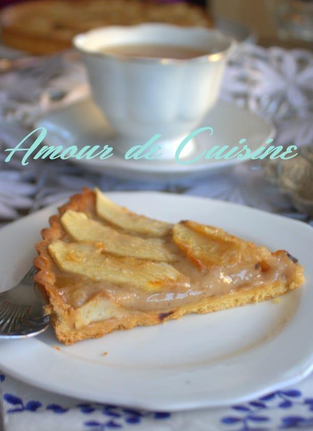 tarte aux pommes a la creme de marron 2