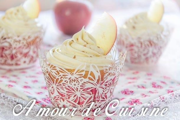 cupcakes aux pommes et mascarpone 1