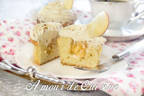 cupcakes aux pommes et mascarpone 9