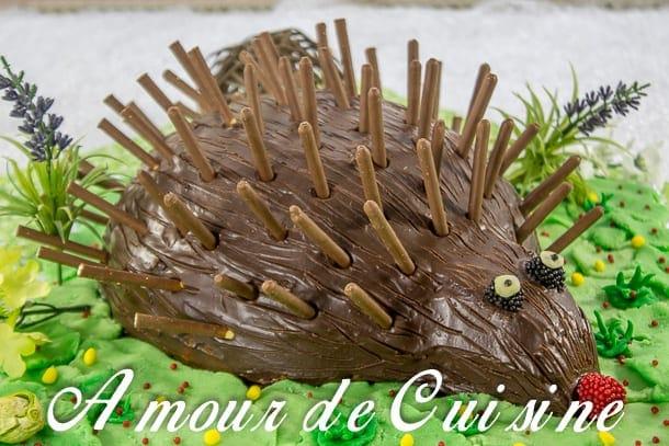 Recette gateau chocolat herisson