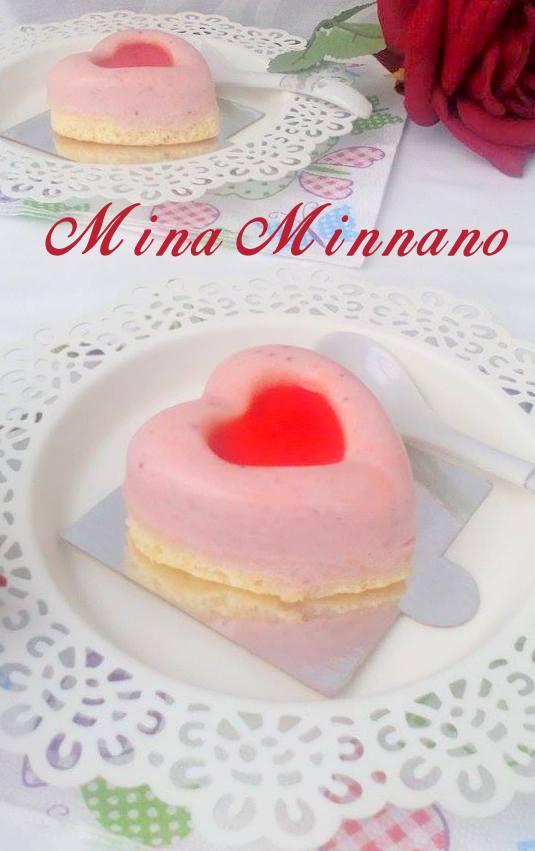 mini bavarois aux fraises de mina 1