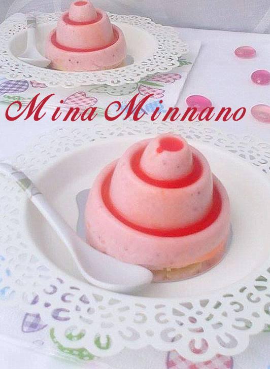 mini bavarois aux fraises de mina