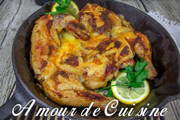poulet roti et sa croute au fromage 1