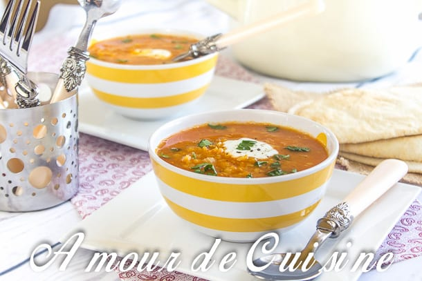 soupe de lentilles corail a la patate douce amour de cuisine