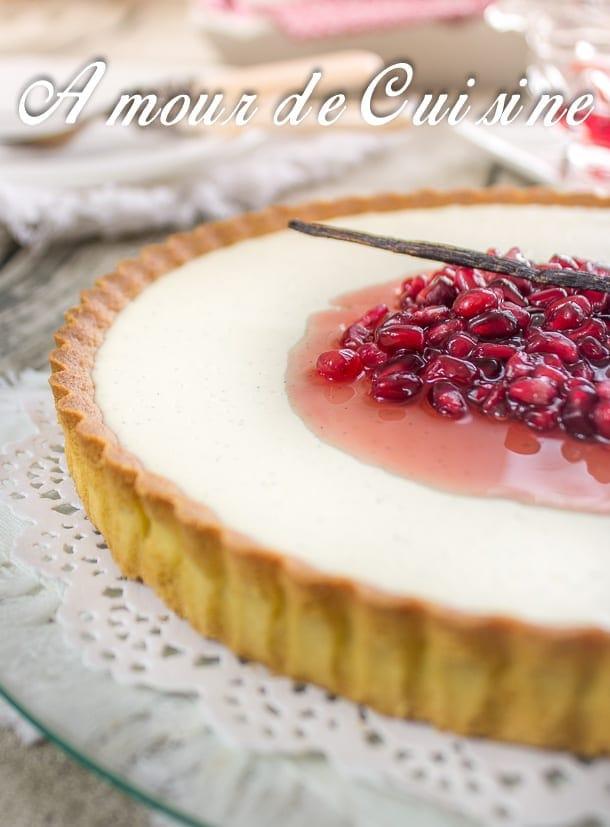 Wonderful Amour De Cuisine Tarte Au Citron #3: Tarte-panna-cotta-vanille-et-grenade-4.jpg