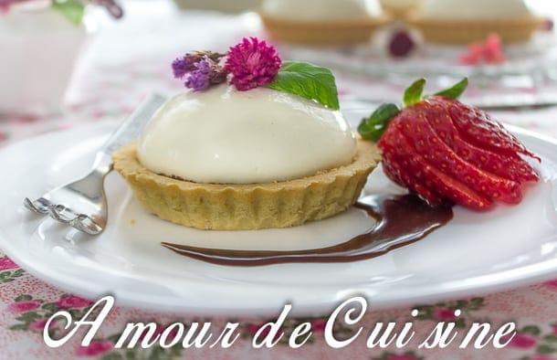 tartelette chocolat panna cotta a l'eau de fleur d'oranger 1