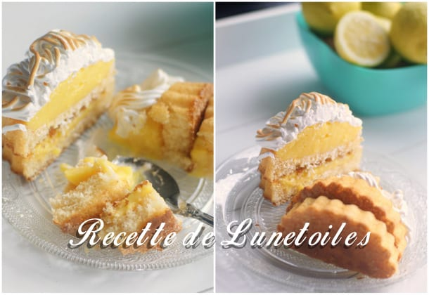 tartelettes renversées au lemon curd meringuées