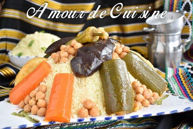 Couscous aux légumes 1