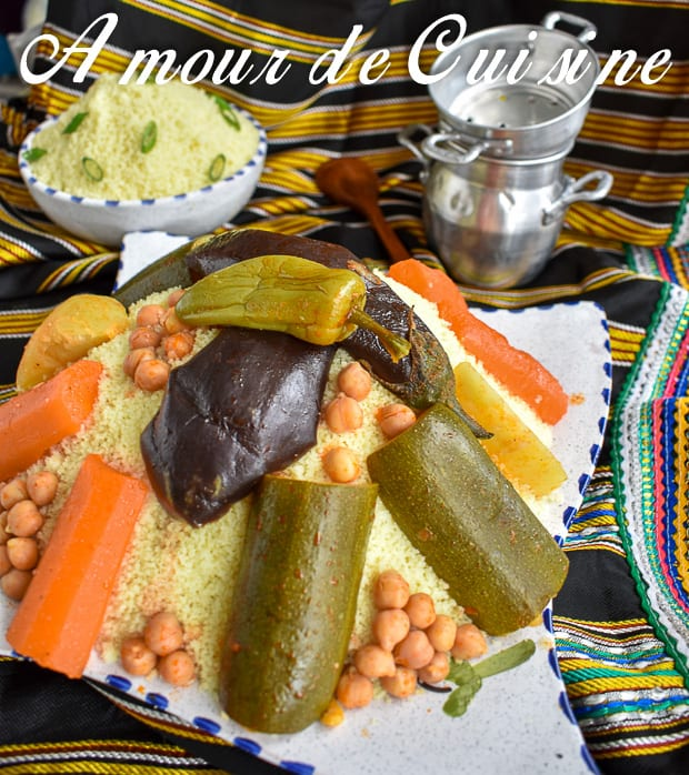 Couscous aux légumes 3