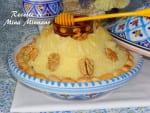 Seffa special khotba-couscous à la noix de coco