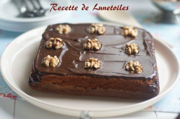 gateau moelleux aux amandes et chocolat 1