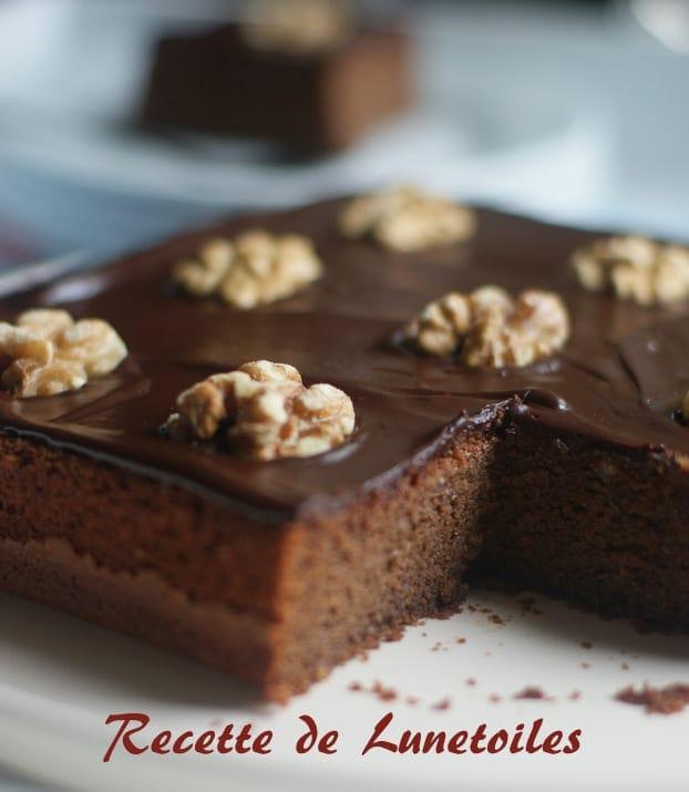 Gateau Moelleux Aux Amandes Et Chocolat Amour De Cuisine
