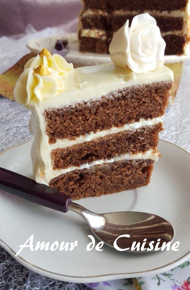 Gateau Moelleux Au Yaourt Et Au Chocolat Amour De Cuisine