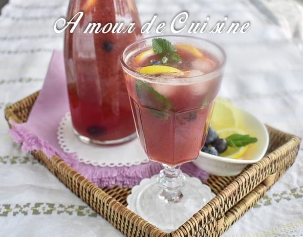 limonade aux myrtilles 2