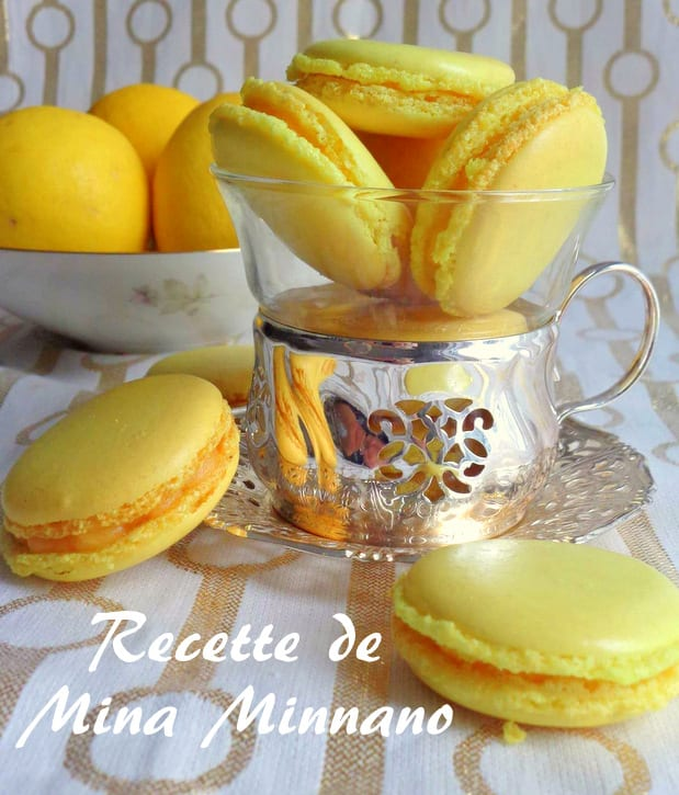 macarons au lemon curd 1