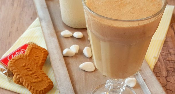 milkshake aux speculoos
