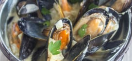 Moules marinieres sans vin