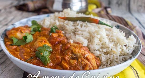 Recette poulet tikka massala amour de cuisine - Recette amour de cuisine ...