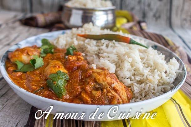 Recette poulet tikka massala amour de cuisine for 1 amour de cuisine