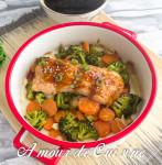 saumon teriyaki aux legumes 1