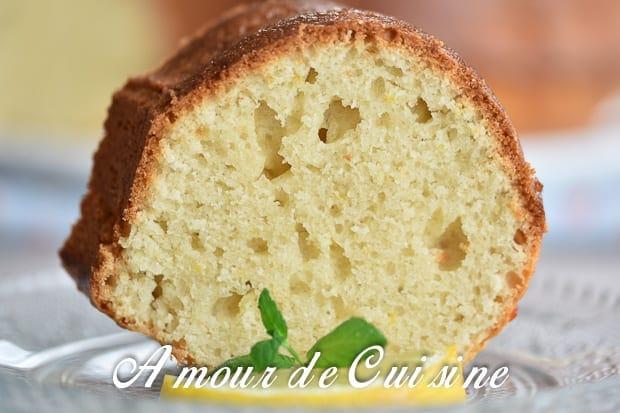 bundt cake au citron et ricotta 1