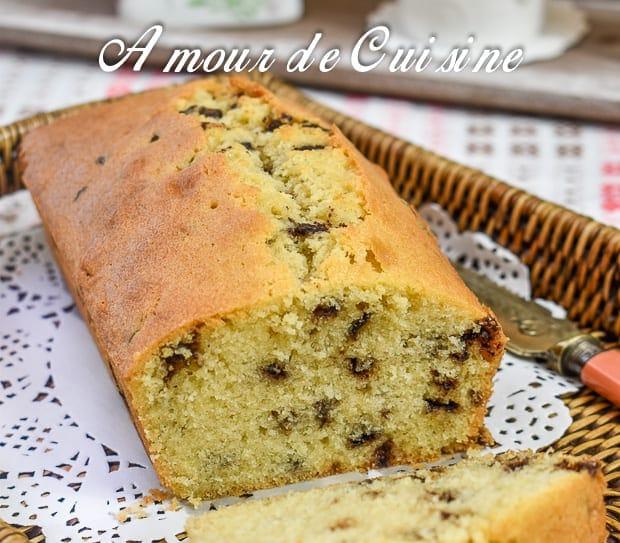 Cake Au Pepite Chocolat Moelleux Rapide