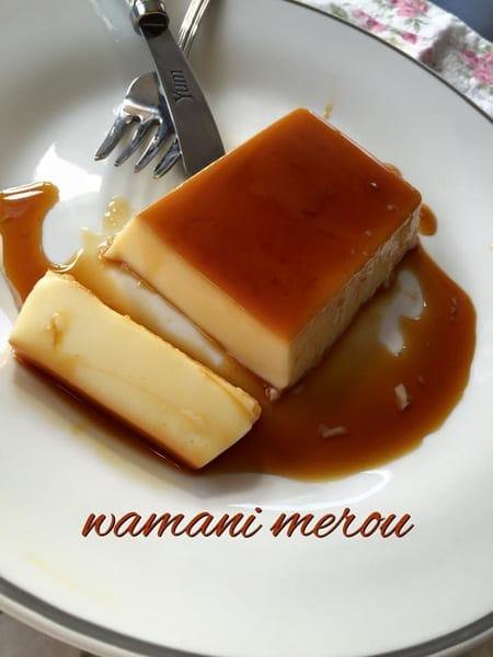 flan au néstlé wamani