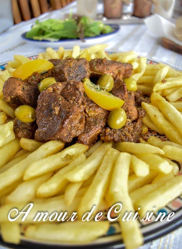 Lham mhamer tajine de viande rotie amour de cuisine for 1 amour de cuisine
