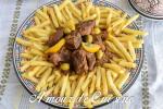 lham mhamer, tajine de viande roti 2