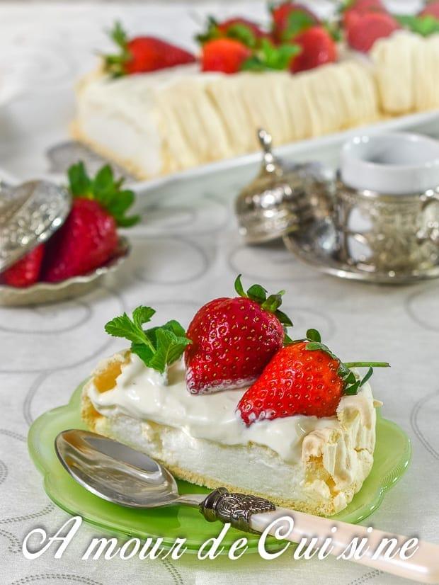 pavlova aux fraises 10