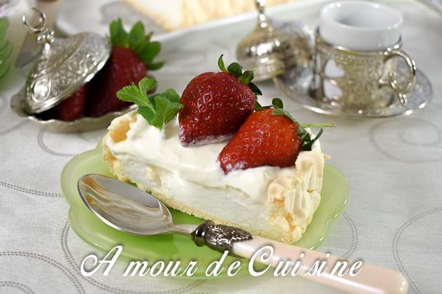 pavlova aux fraises 4