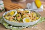 salade portugaise au thon et pois chiche 1