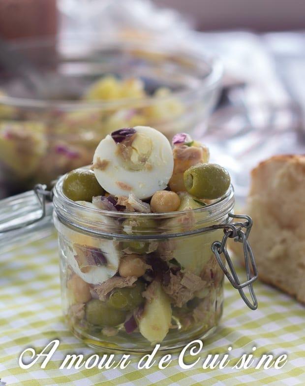 salade portugaise au thon et pois chiche 5