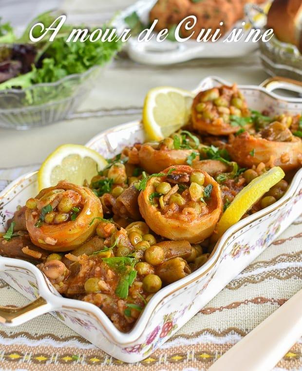 tbikha, jardinière de légumes algéroise - amour de cuisine