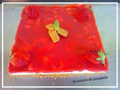 bavarois fraises poupoule
