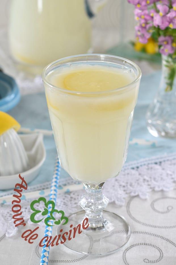 cherbet au citron, limonade algerienne du ramadan 3