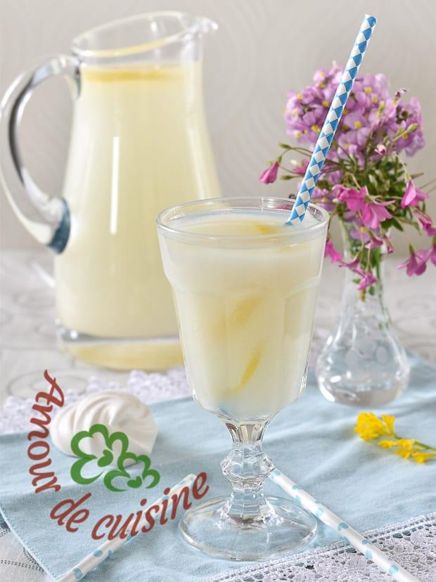 cherbet ou citronade algérienne pour ramadan