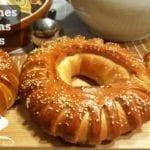 couronne de pain farcie