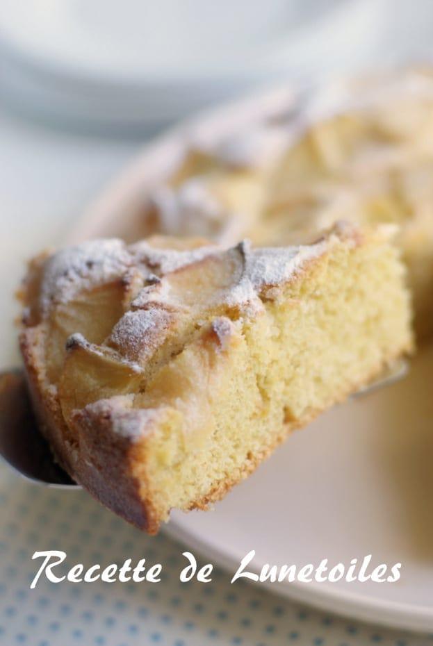 gâteau sable croustillant aux pommes 1