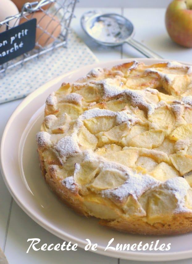 gâteau sable croustillant aux pommes 4