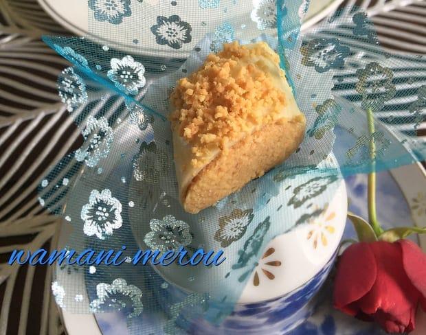 Ghribia el warka gateau algerien 2016 amour de cuisine for Amour de cuisine