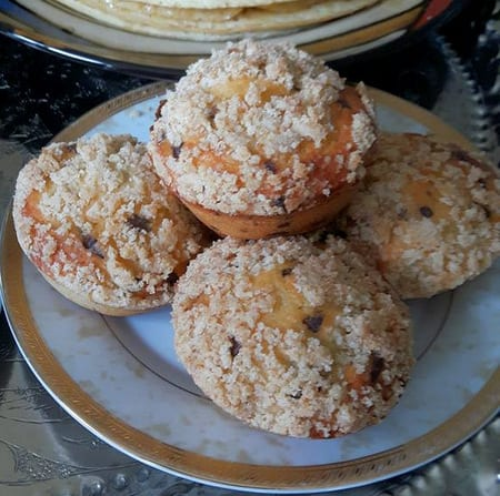 muffin crumble