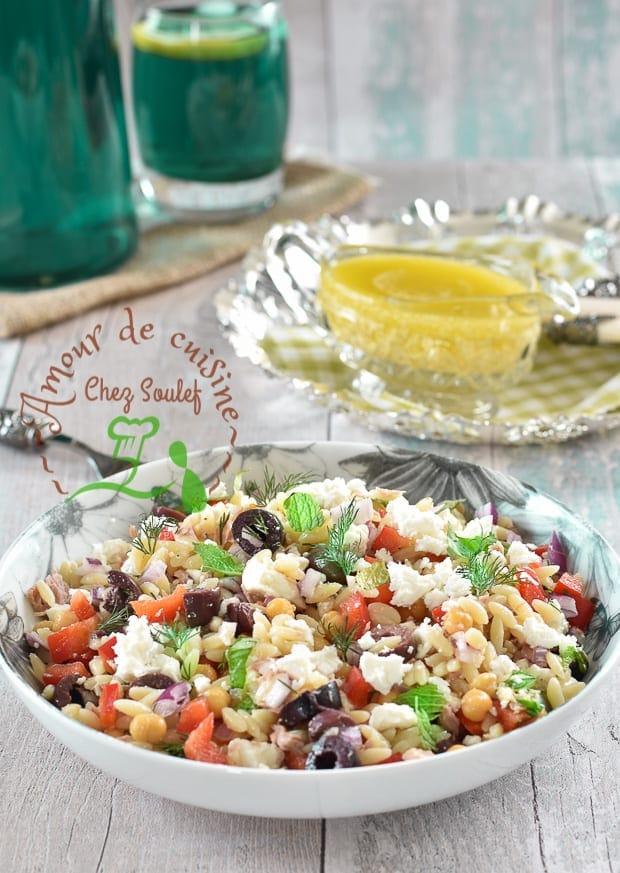 salade d'orzo au feta 1