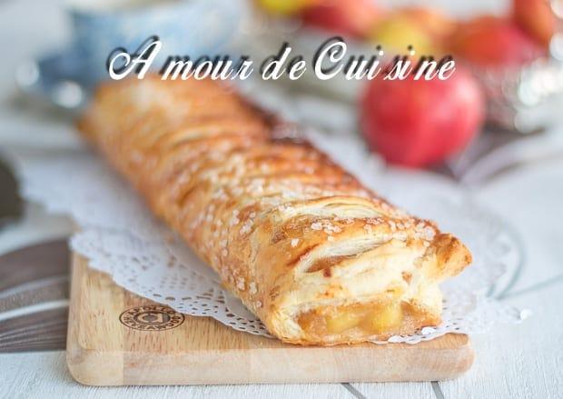 strudel aux pommes, L'Apfelstrudel 13