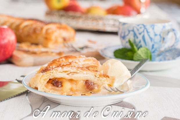 Strudel aux pommes l 39 apfelstrudel amour de cuisine for Amour de cuisine basboussa