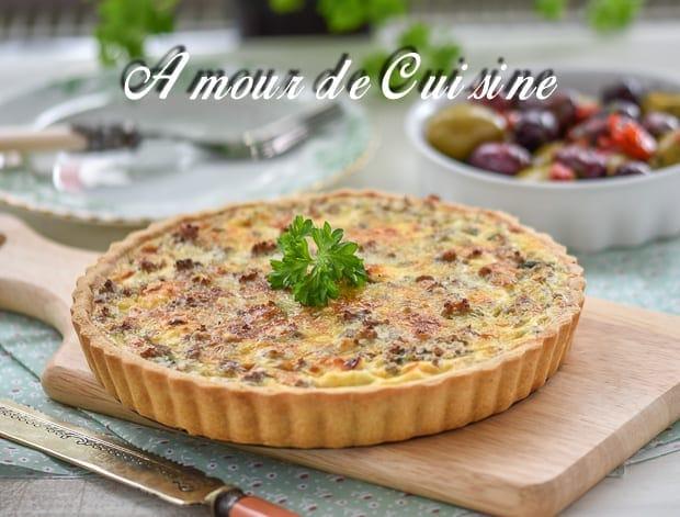 Tarte la viande hach e amour de cuisine for Viande cuisinee