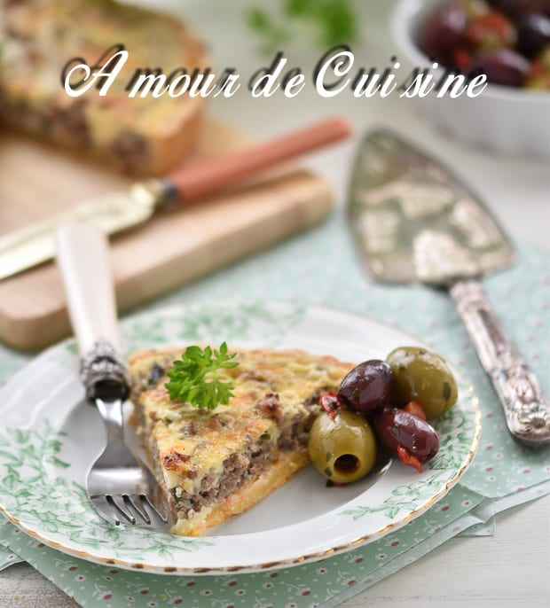 tarte à la viande hachée 3