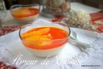 panna cotta a l'orange