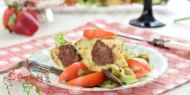 tajine tunisien aux boulettes de viande bnadèk